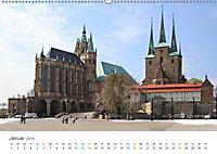 Erfurt - Stadt der Türme (Wandkalender 2019 DIN A2 quer) - Produktdetailbild 1