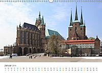 Erfurt - Stadt der Türme (Wandkalender 2019 DIN A3 quer) - Produktdetailbild 1