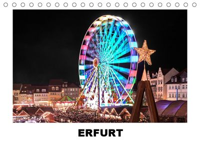 Erfurt (Tischkalender 2019 DIN A5 quer), Christian Hallweger