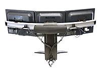 ERGOTRON LX Triple Lift Stand fuer 3 Monitore bis 53,3cm 21Zoll oder 2 Breitbildschirme  bis 76,2cm 30 Zoll schwarz Tischstaender - Produktdetailbild 9
