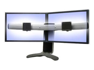 ERGOTRON LX Triple Lift Stand fuer 3 Monitore bis 53,3cm 21Zoll oder 2 Breitbildschirme  bis 76,2cm 30 Zoll schwarz Tischstaender
