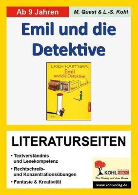 Erich Kästner 'Emil und die Detektive', Literaturseiten, Moritz Quast, Lynn-Sven Kohl
