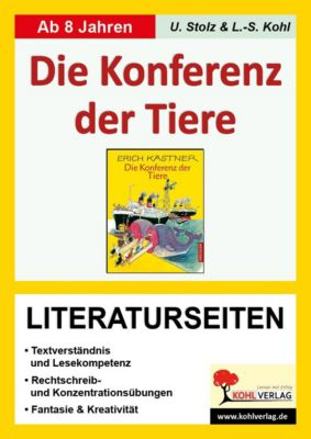 Erich Kästner 'Konferenz der Tiere', Literaturseiten, Ulrike Stolz, Lynn-Sven Kohl