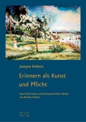 Erinnern als Kunst und Pflicht - Justyna Kubocz pdf epub