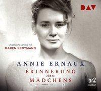 Erinnerung eines Mädchens, 4 Audio-CDs, Annie Ernaux