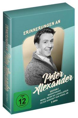 Erinnerungen an Peter Alexander - Box 1, Diverse Interpreten