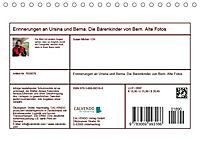 Erinnerungen an Ursina und Berna. Die Bärenkinder von Bern. Alte Fotos (Tischkalender 2019 DIN A5 quer) - Produktdetailbild 13