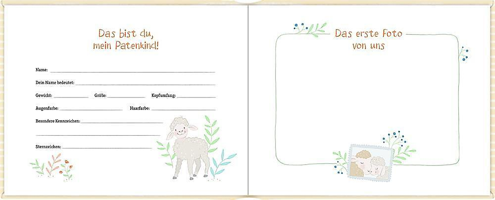 Erinnerungsalbum Mein Patenkind Buch Versandkostenfrei Bei