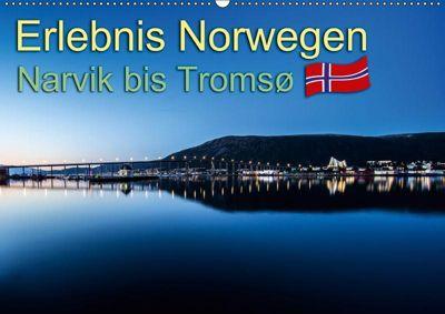 Erlebnis Norwegen: Narvik bis Tromsø (Wandkalender 2019 DIN A2 quer), Daniel Philipp