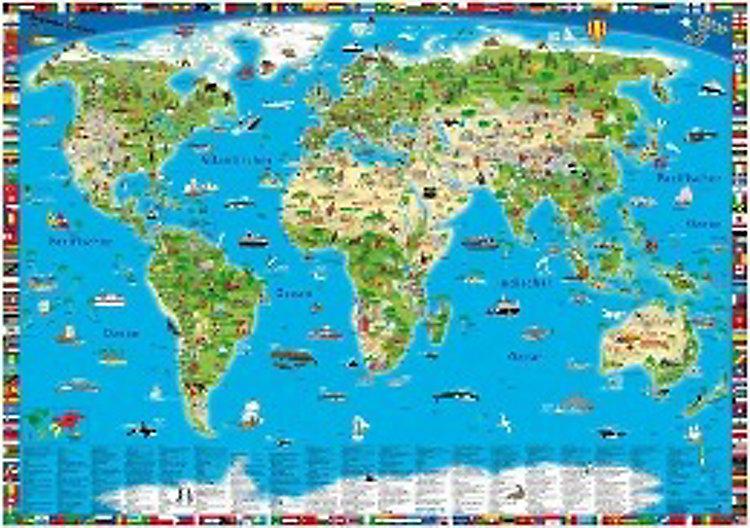 Weltkarte zum zoomen