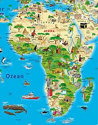 Erlebniskarte illustrierte Weltkarte, Planokarte - Produktdetailbild 3