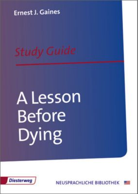 A lesson before dying conflicts?