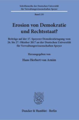 Erosion von Demokratie und Rechtsstaat?