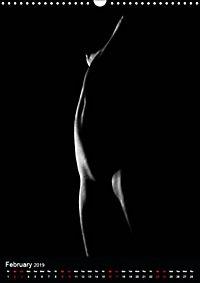 erotic shadows 2019 (Wall Calendar 2019 DIN A3 Portrait) - Produktdetailbild 2
