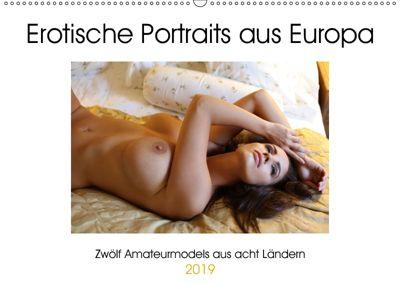 Erotische Portraits aus Europa (Wandkalender 2019 DIN A2 quer), k.A. Venusonearth