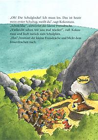 Erst ich ein Stück, dann du. Der kleine Drache Kokosnuss Band 4: Der kleine Drache Kokosnuss kommt in die Schule - Produktdetailbild 4