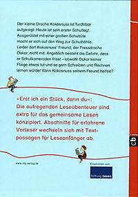 Erst ich ein Stück, dann du. Der kleine Drache Kokosnuss Band 4: Der kleine Drache Kokosnuss kommt in die Schule - Produktdetailbild 2
