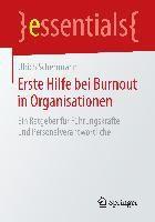 Erste Hilfe bei Burnout in Organisationen, Ulrich Scherrmann