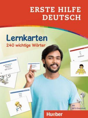 Erste Hilfe Deutsch - Lernkarten, Juliane Forßmann
