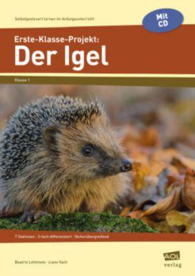 Erste-Klasse-Projekt: Der Igel, m. CD-ROM -  pdf epub