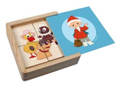 Erstes Puzzle aus Holz Unser Sandmännchen und seine Freunde (Kinderpuzzle)