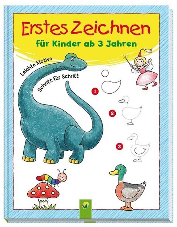 Erstes Zeichnen für Kinder ab 3 Jahren Buch - Weltbild.ch