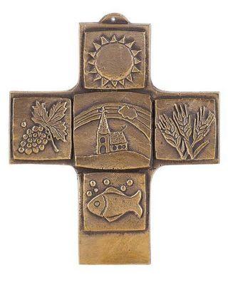 Erstkommunion / Bronzekreuz