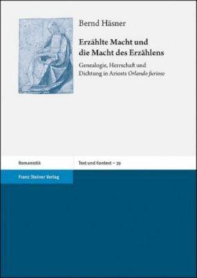 Erzählte Macht und die Macht des Erzählens - Bernd Häsner |