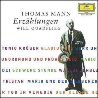 Erzählungen, 12 Audio-CDs, Thomas Mann