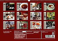 Es ist Zeit für Tee. Impressionen (Wandkalender 2019 DIN A3 quer) - Produktdetailbild 1