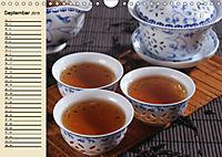 Es ist Zeit für Tee. Impressionen (Wandkalender 2019 DIN A4 quer) - Produktdetailbild 9