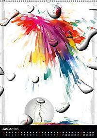 Es kann ja mal Tropfen von Nico Bielow (Wandkalender 2019 DIN A2 hoch) - Produktdetailbild 1
