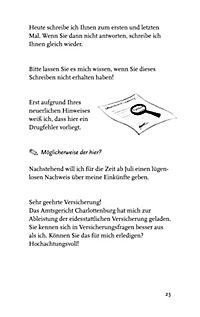 """""""Es wird um Rückerstattung des beiliegenden Sohnes Hermann gebeten"""" - Produktdetailbild 6"""