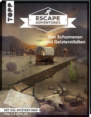 Escape Adventures - Von Schamanen und Geisterstädten, Sebastian Frenzel, Simon Zimpfer