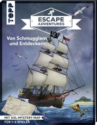 Escape Adventures - Von Schmugglern und Entdeckern, Sebastian Frenzel, Simon Zimpfer