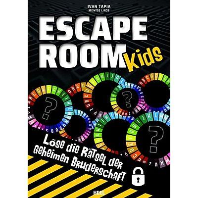 Escape Room Kids Buch Von Ivan Tapia Portofrei Bei Weltbild De