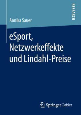 eSport, Netzwerkeffekte und Lindahl-Preise - Annika Sauer pdf epub