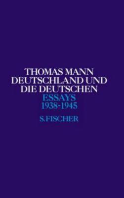 Essays: Bd.4 Deutschland und die Deutschen - Thomas Mann pdf epub