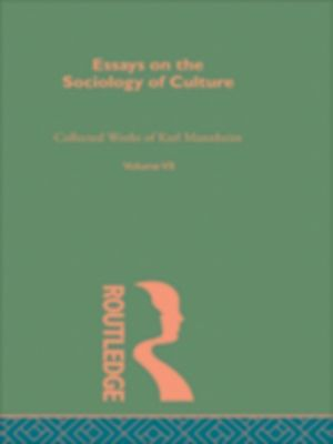 essay of sociology of culture (your name) (instructor's name) (class) (date) sociology studies sociology of culture sociology of culture it is important to cite the definition.