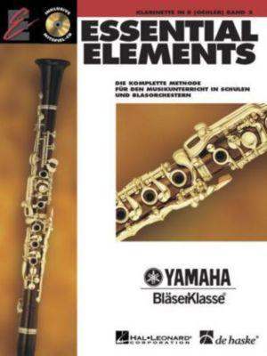 Essential Elements, für Klarinette in B (Oehler), m. Audio-CD, Paul Lavender