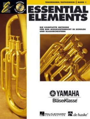 Essential Elements, für Tenorhorn/Euphonium in B (TC), m. Audio-CD, Paul Lavender