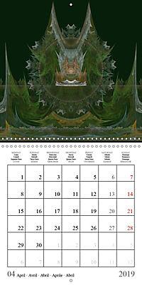 Esthetic Chaos Fantasies (Wall Calendar 2019 300 × 300 mm Square) - Produktdetailbild 4