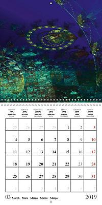 Esthetic Chaos Fantasies (Wall Calendar 2019 300 × 300 mm Square) - Produktdetailbild 3