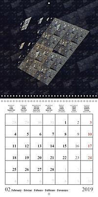 Esthetic Chaos Fantasies (Wall Calendar 2019 300 × 300 mm Square) - Produktdetailbild 2