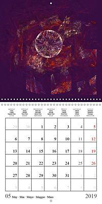 Esthetic Chaos Fantasies (Wall Calendar 2019 300 × 300 mm Square) - Produktdetailbild 5