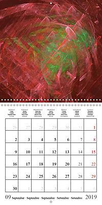 Esthetic Chaos Fantasies (Wall Calendar 2019 300 × 300 mm Square) - Produktdetailbild 9