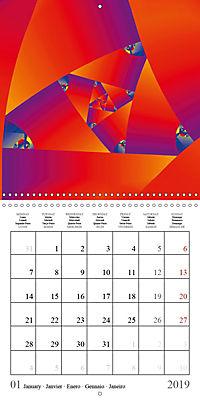 Esthetic Chaos Rosy Dawn (Wall Calendar 2019 300 × 300 mm Square) - Produktdetailbild 1