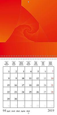 Esthetic Chaos Rosy Dawn (Wall Calendar 2019 300 × 300 mm Square) - Produktdetailbild 4