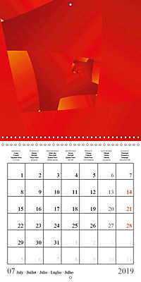 Esthetic Chaos Rosy Dawn (Wall Calendar 2019 300 × 300 mm Square) - Produktdetailbild 7