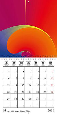 Esthetic Chaos Rosy Dawn (Wall Calendar 2019 300 × 300 mm Square) - Produktdetailbild 5